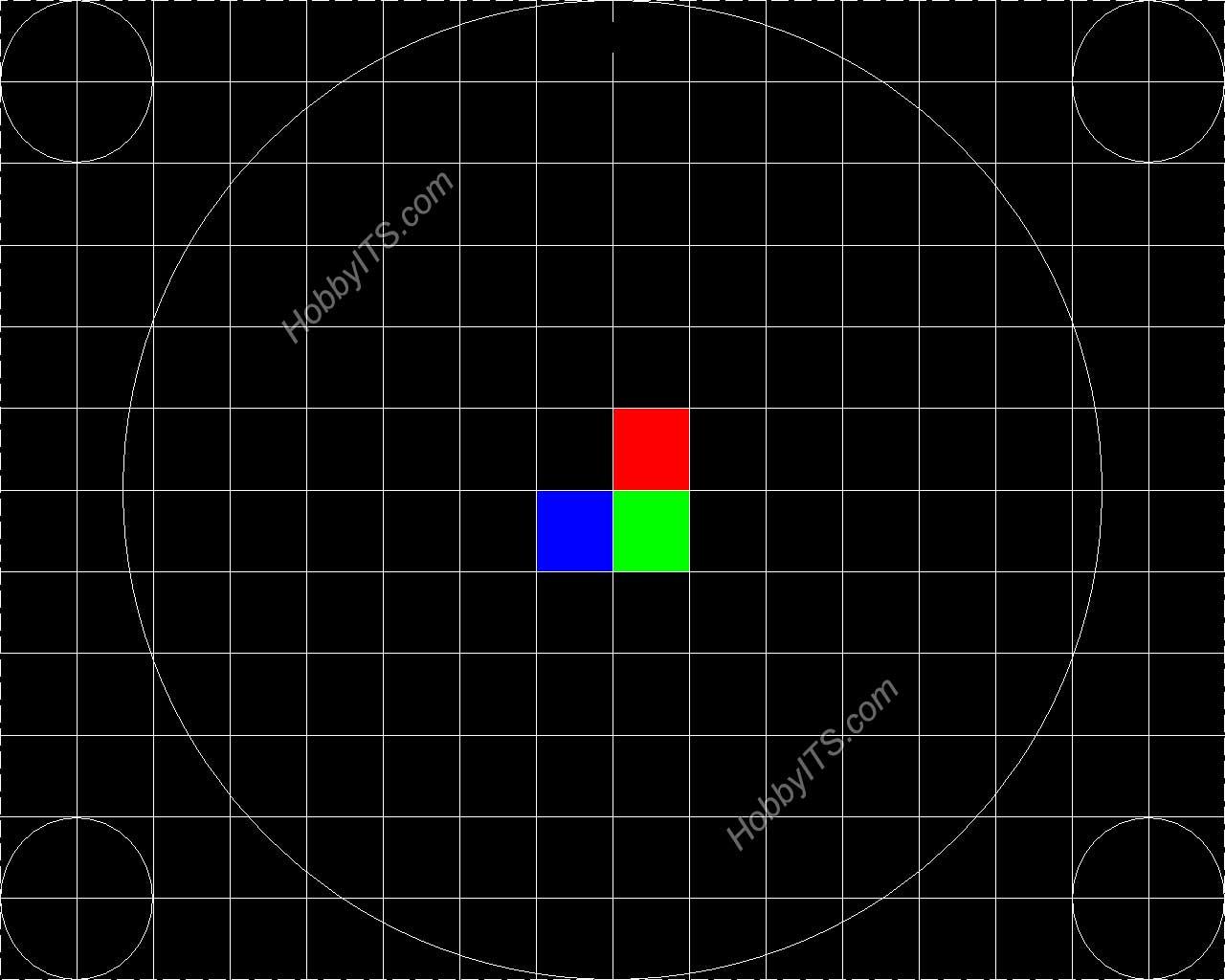 Тест геометрии монитора