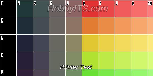 Тест цвета монитора