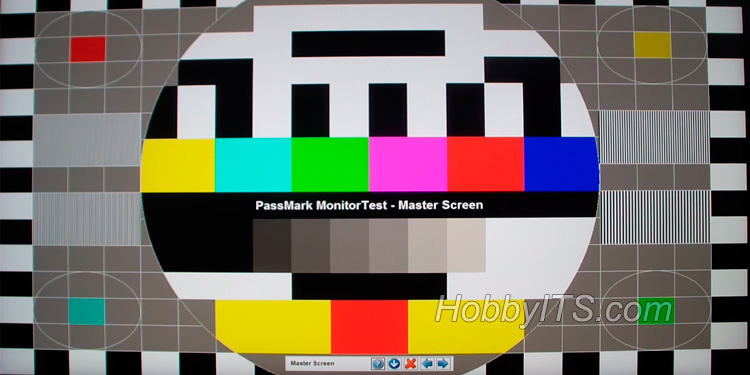 программа для теста монитора