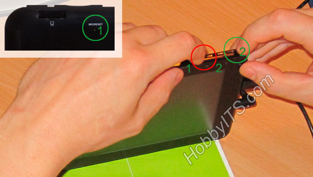 Как войти в режим прошивки планшета GoClever TAB R74