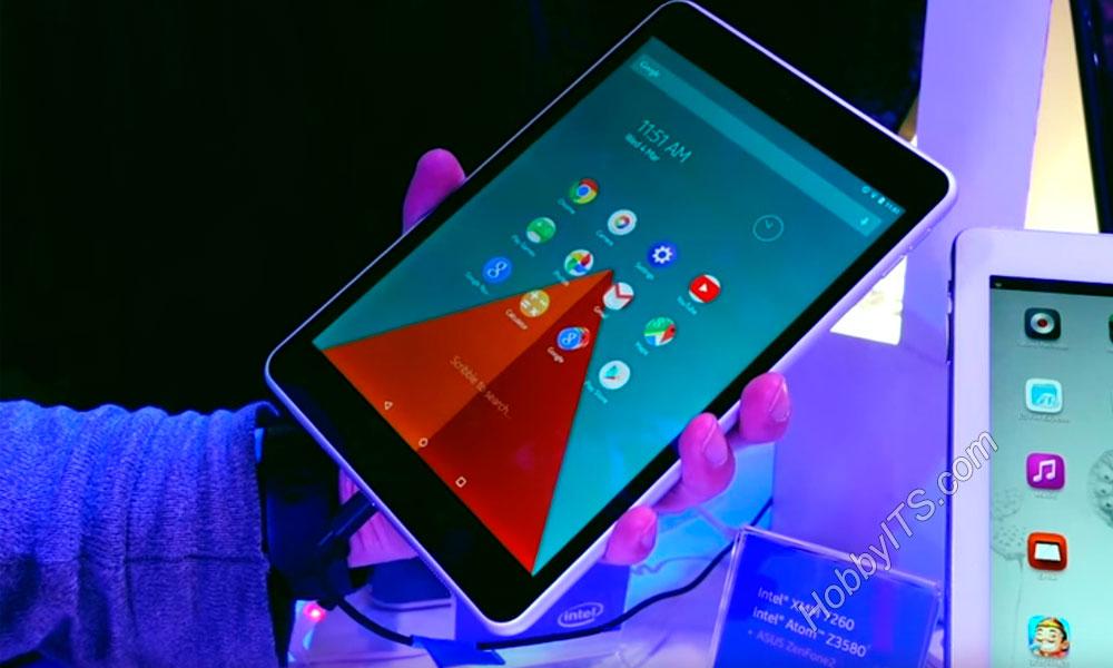 Диагональ IPS экрана у планшета Nokia N1 равна 7,9 дюймов (разрешение 2048 x 1536 ppi)