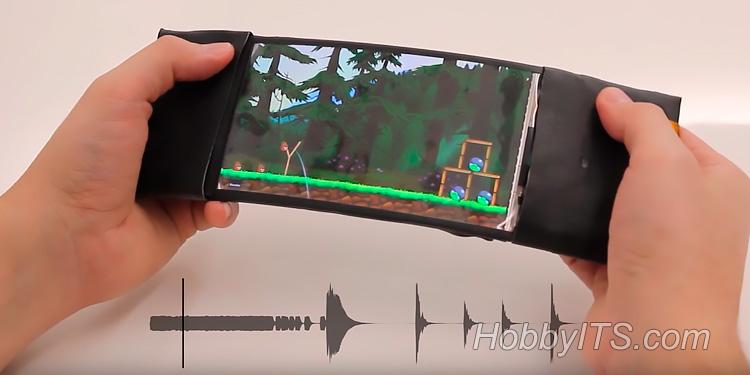 Изобретатели HML создали смартфон с гибким корпусом и экраном