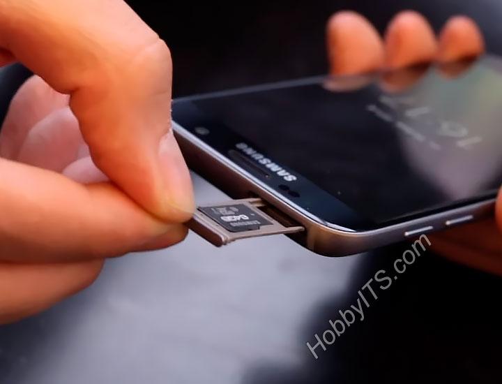 Поддержка micro SD карт до 32 Гигабайт в Samsung Galaxy S7 Edge