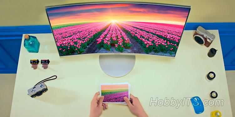 Новинки от Samsung — вогнутые мониторы CF591 и CF390
