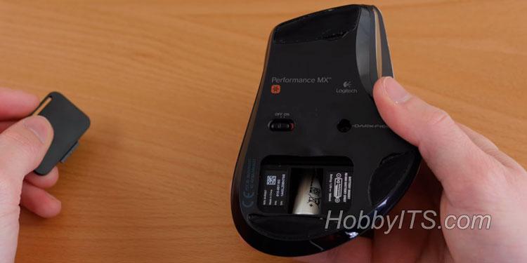 На беспроводной мышке первым делом нужно проверить батарейку