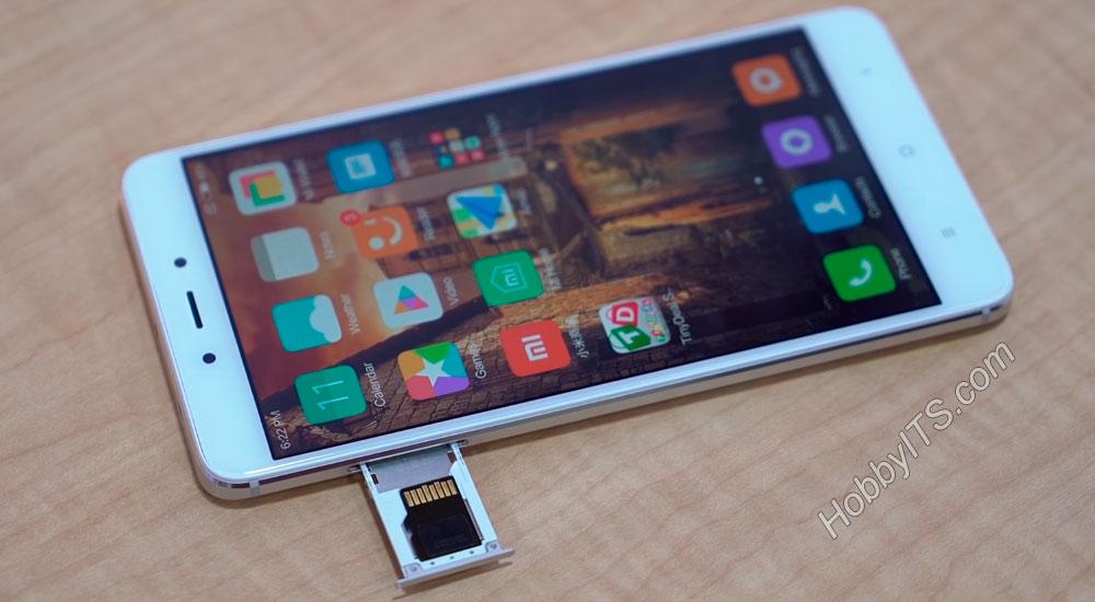 Лоток для ставки SIM-карт - Xiaomi Redmi Note 4