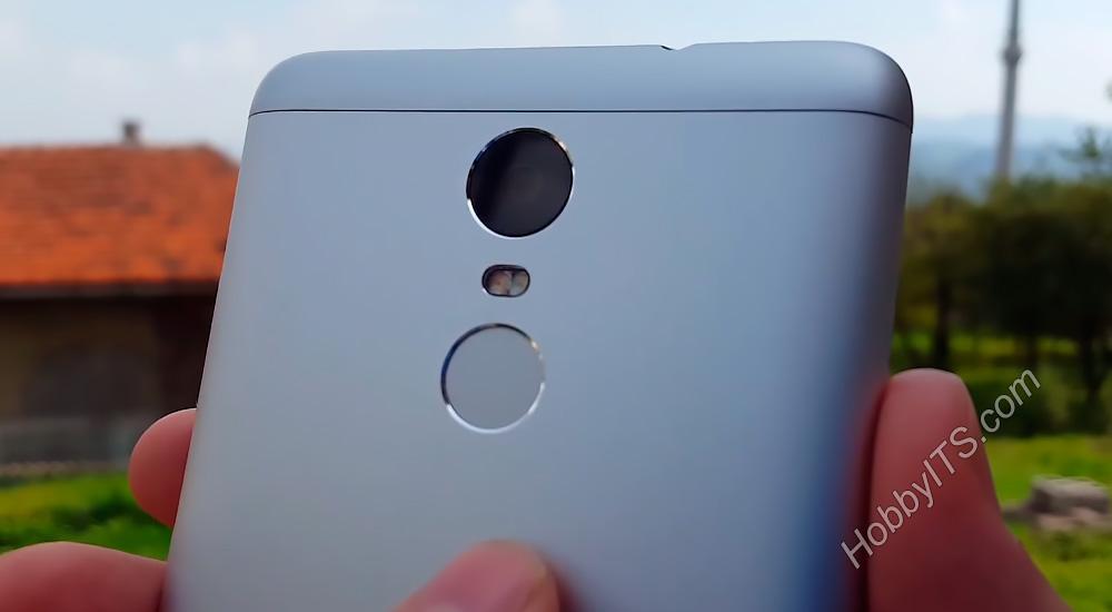 Камера и сканер отпечатков пальцев на Xiaomi Redmi Note 3