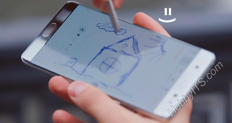Шуточный пример планирования дома S Pen =)