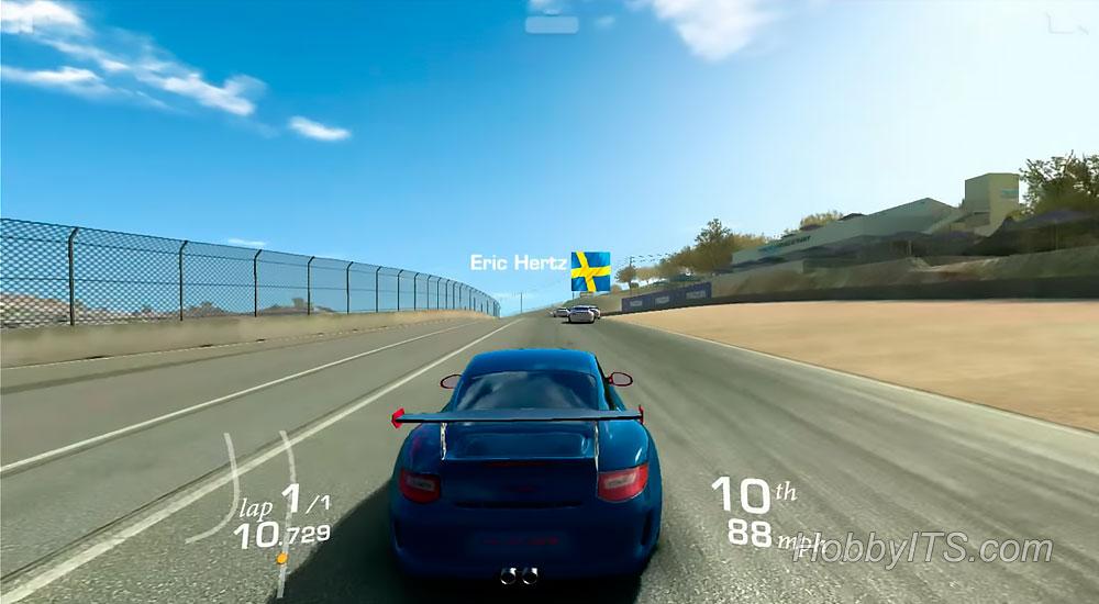 Изображение с игры Real Racing 3