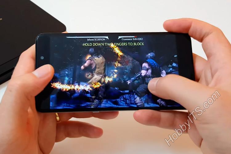 Игра MORTAL KOMBAT X на смартфоне UMI Super