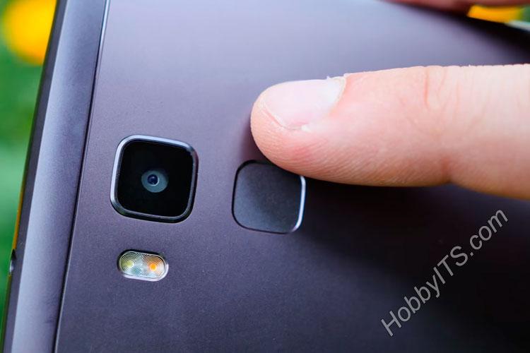 Сканер отпечатков пальцев на смартфоне Vernee Apollo Lite