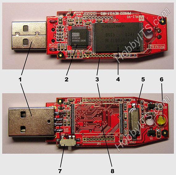 Устройство USB Flash накопителя