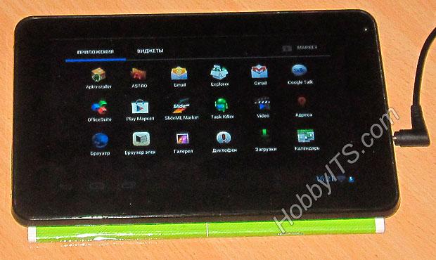 Стабильная и улучшенная работа планшета GoClever TAB R74 после прошивки