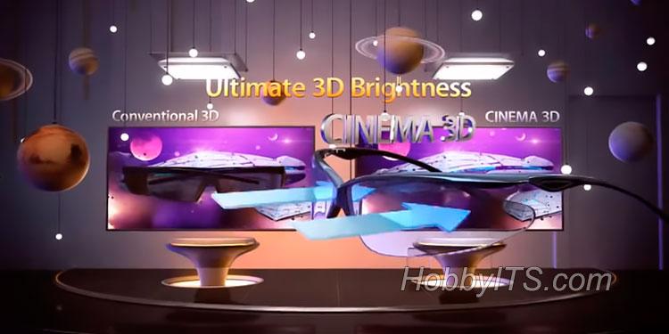 Как работает технология воспроизведения 3D в телевизорах