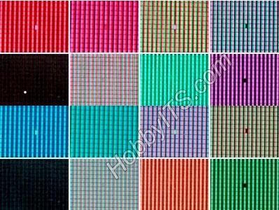 Разные типы битых пикселей