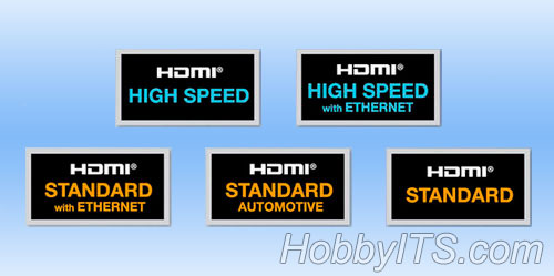 Типы HDMI кабеля