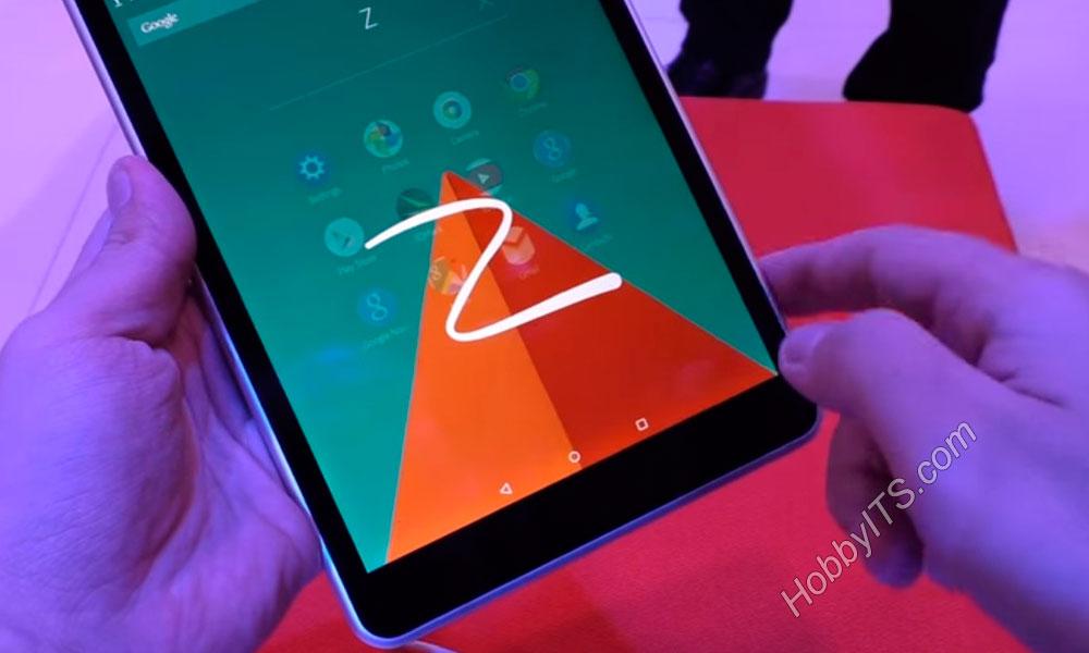 Zero Launcher - управление планшетом Nokia N1 с помощью жеста