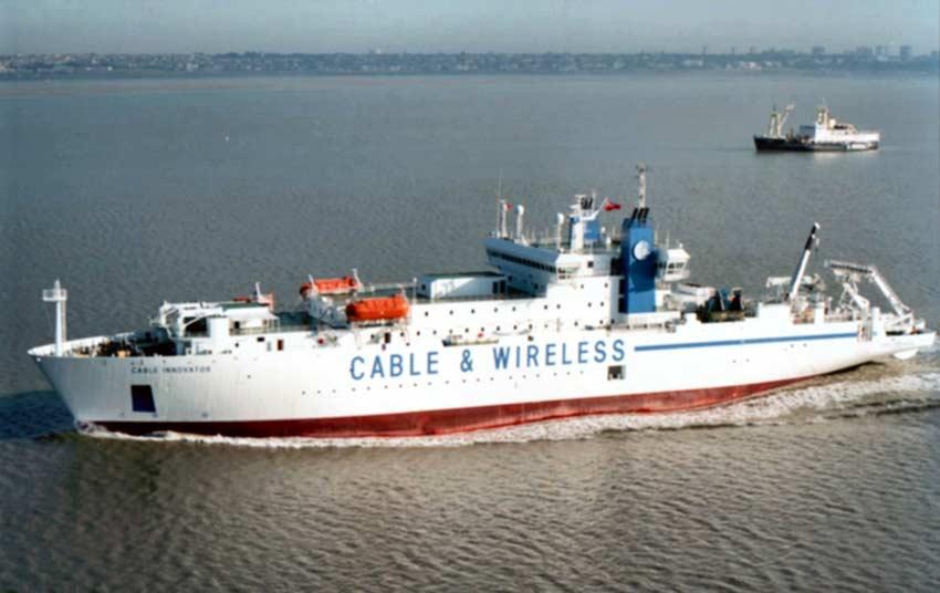 Корабль CS Cable Innovator для прокладки и ремонта подводной кабельной системы