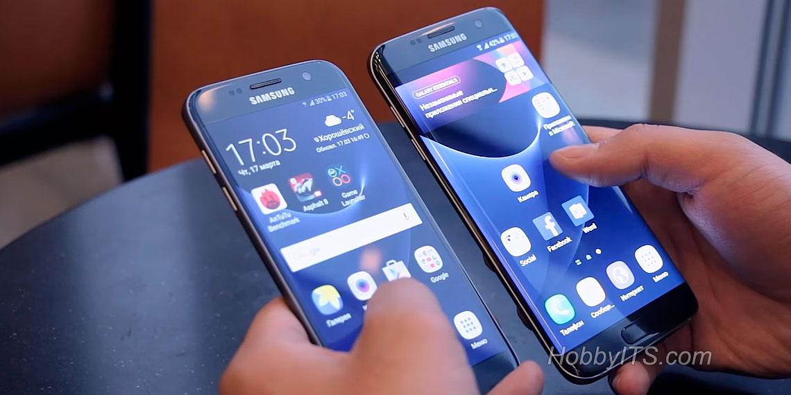 Samsung продемонстрировала в Барселоне новинки смартфонов