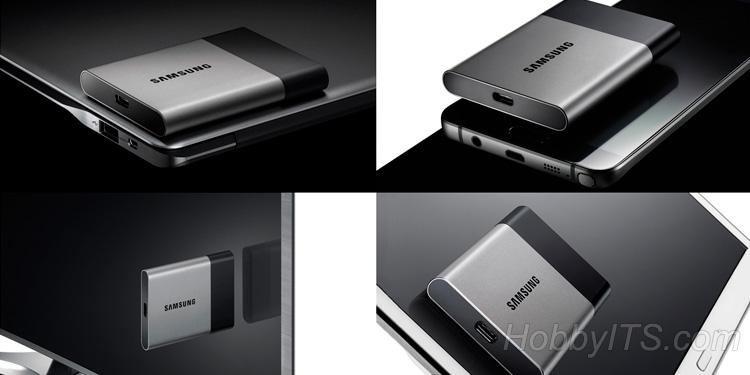 Samsung SSD T3 - быстрый и компактный портативный накопитель