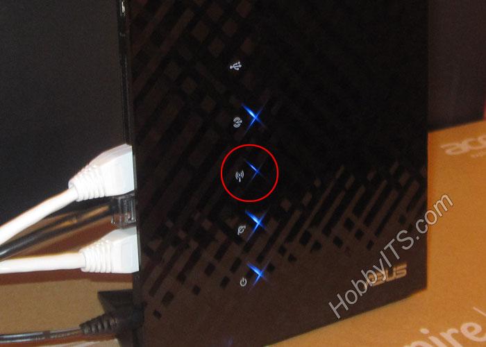 Индикатор информирующий о статусе активации Wi-Fi модуля в роутере