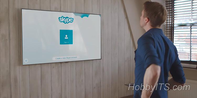В современных телевизорах исчезнет Skype