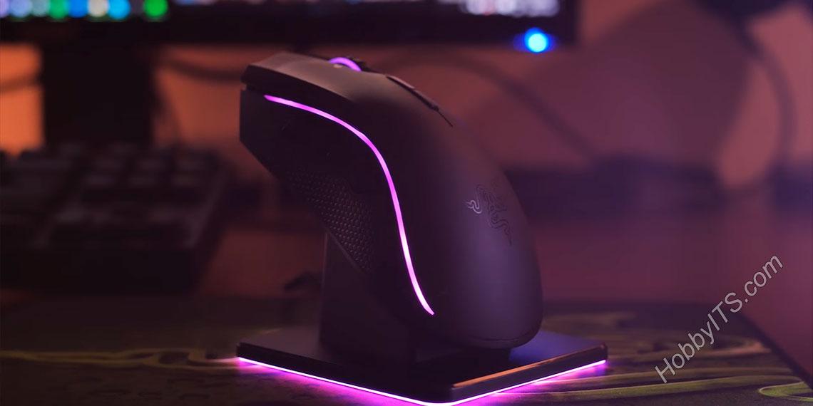Компьютерная мышка от компании Razer с подсветкой