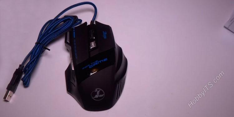 Проводная USB мышка для компьютера