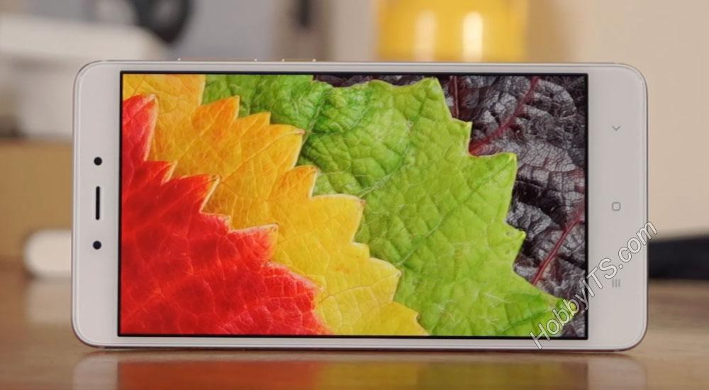 Цвета на смартфоне Xiaomi Redmi Note 4 стандартном режиме
