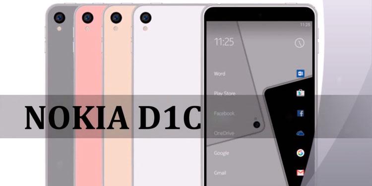 Новый смартфон D1C от финского бренда Nokia
