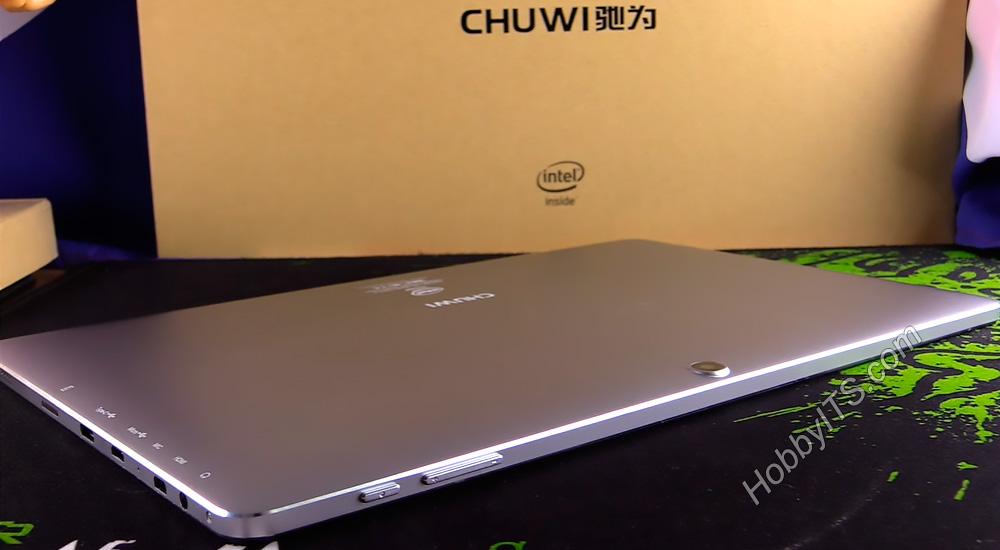 Кнопки включения и регулировки громкости на планшете CHUWI HiBook 2