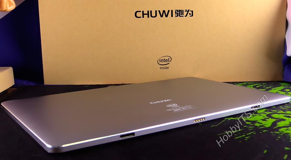 Нижняя часть планшета CHUWI HiBook 2 с разъемом для подключения док.станции