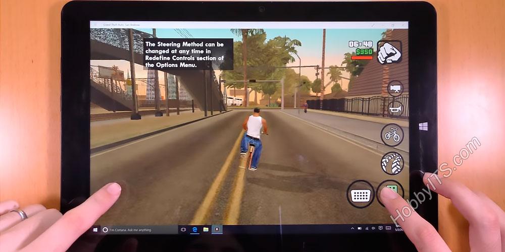 Тест GTA San Andreas на планшете Chuwi Hi12