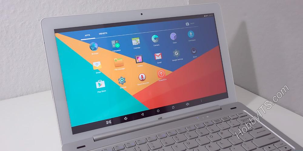 Главная панель с приложениями в ОС Android