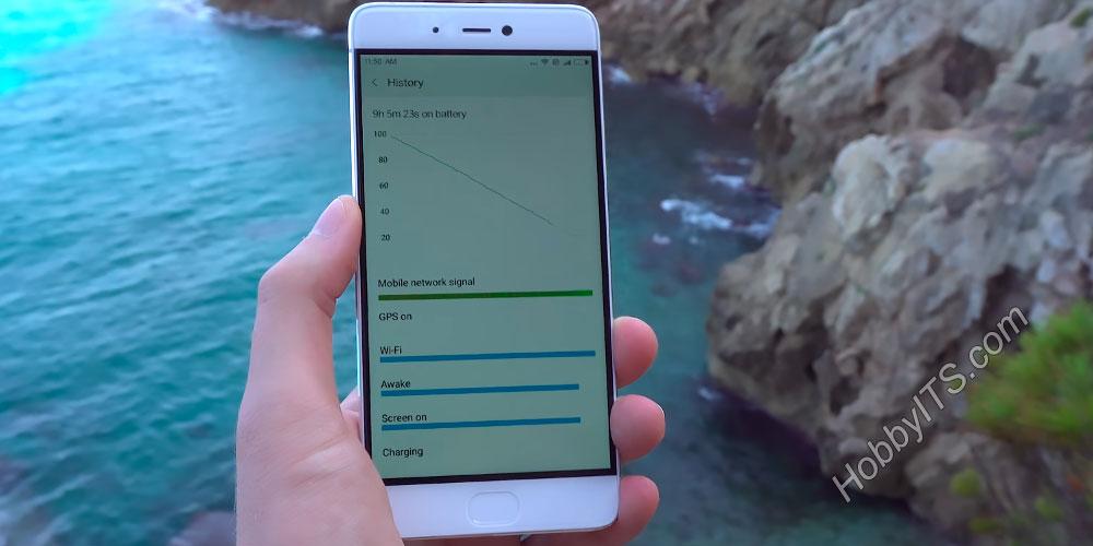 Тест батареи на Xiaomi Mi5s