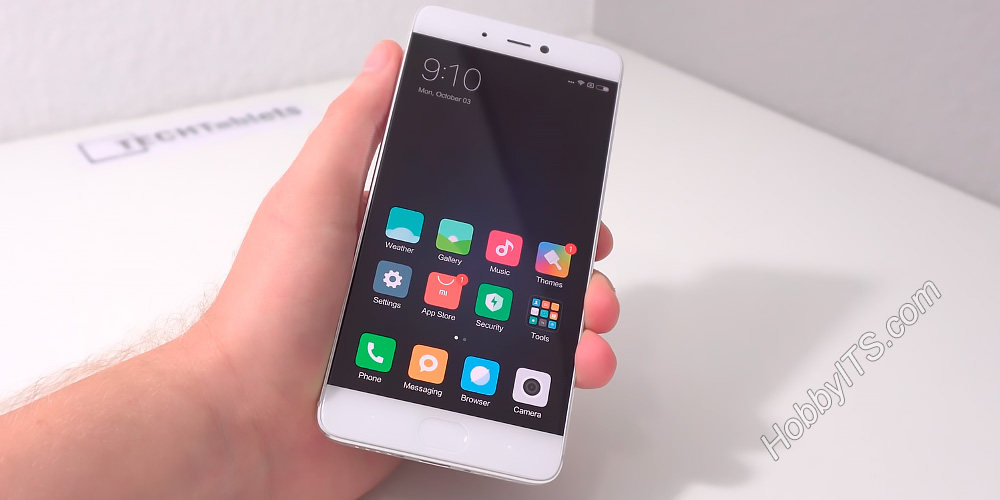 Камера на лицевой панели и сканер отпечатков пальцев у Xiaomi Mi5s