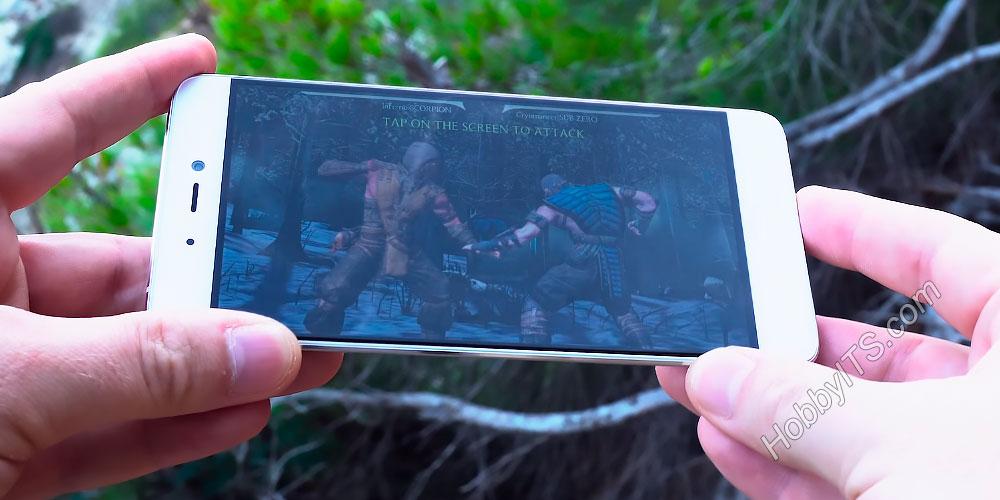 Игра Mortal Kombat на смартфоне Xiaomi Mi5s