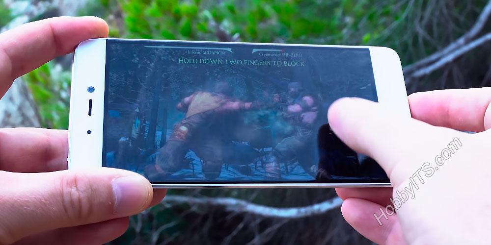 Игра Мортал Комбат на смартфоне Xiaomi Mi5s