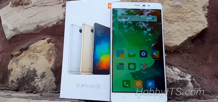 Обзор смартфона Xiaomi Redmi Note 3 Pro с 6-ти ядерным процессором