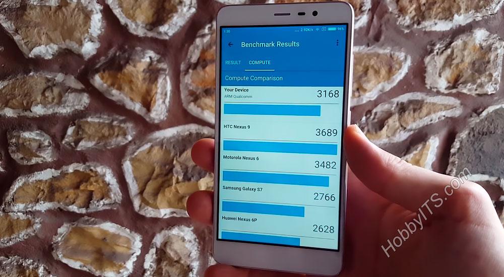 Тест №5 Xiaomi Redmi Note 3 Pro