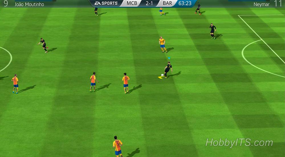 Изображение с игры футбол FIFA 16