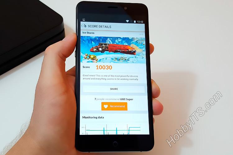3DMark тест на смартфоне UMI Super