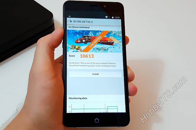 3DMark тест на смартфоне