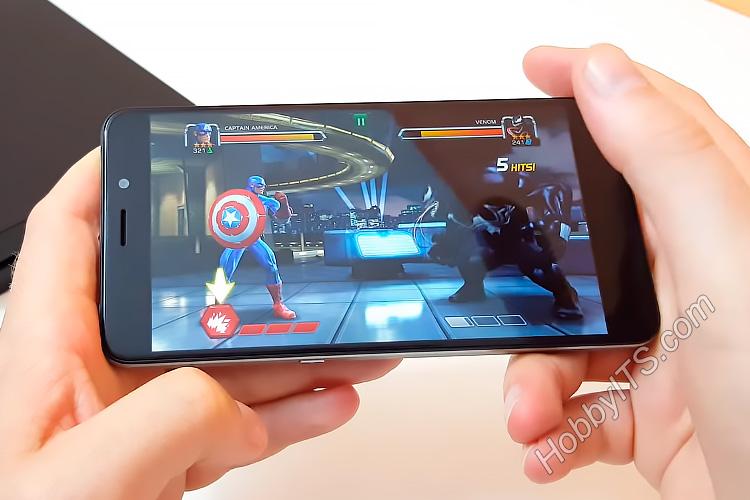 Игра Marvel Contest of Champions на смартфоне UMI Super