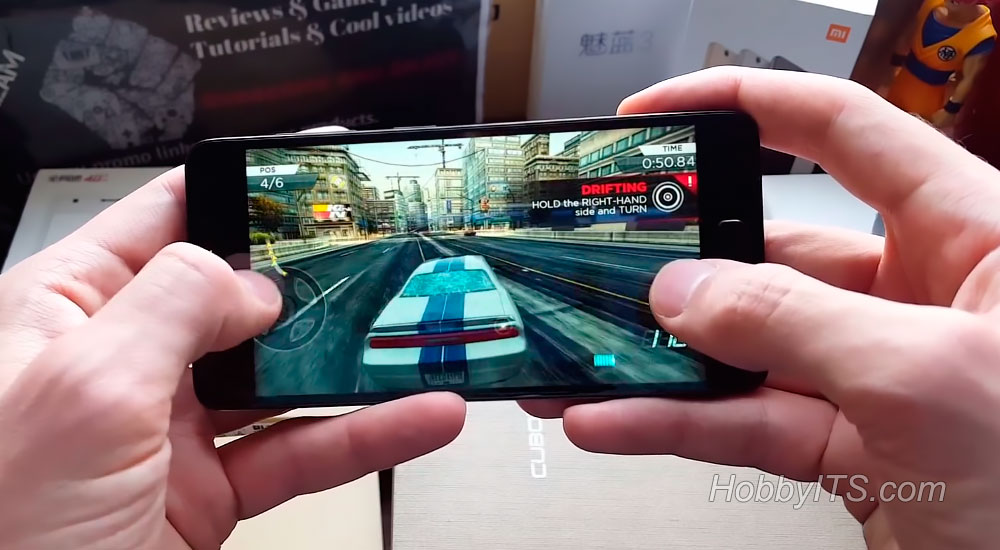 Гонки на смартфоне Lenovo ZUK Z2