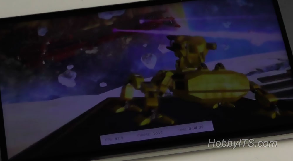 Результаты теста Ice Storm Unlimited для смартфона Blackview R7
