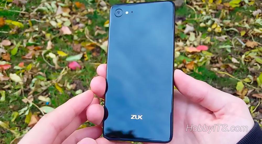 Лицевая сторона смартфона Lenovo ZUK Z2
