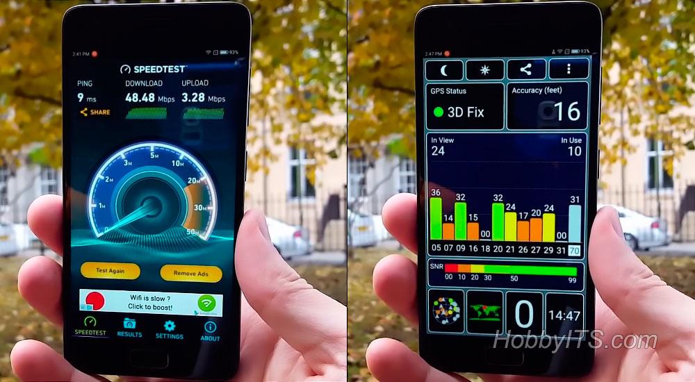 Коннект к GPS и Интернету на смартфоне