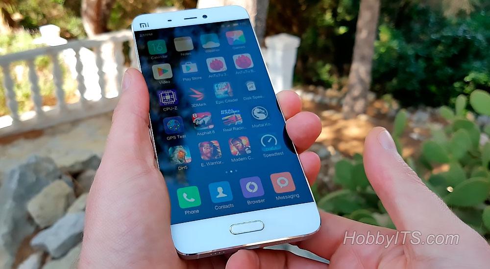 Лицевая панель с датчиками и индикатором событий XiaoMi Mi5