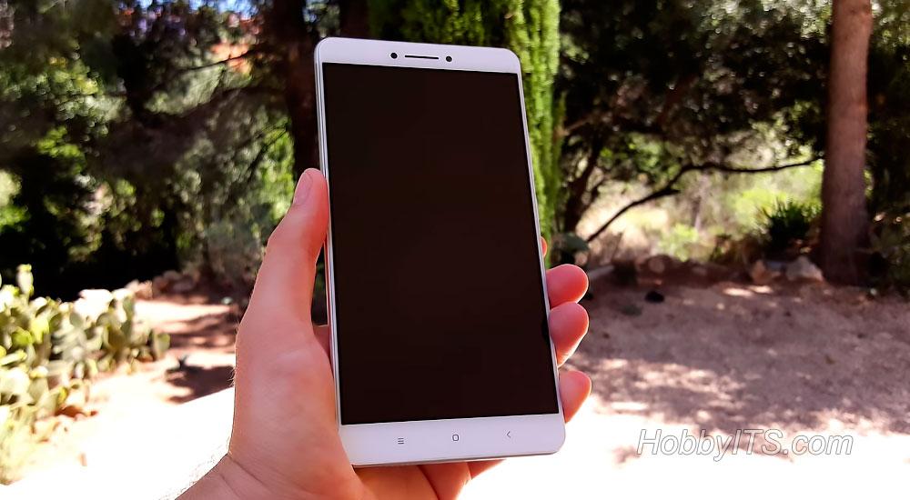 Лицевая панель Xiaomi Mi Max с датчиками и сенсорными кнопками